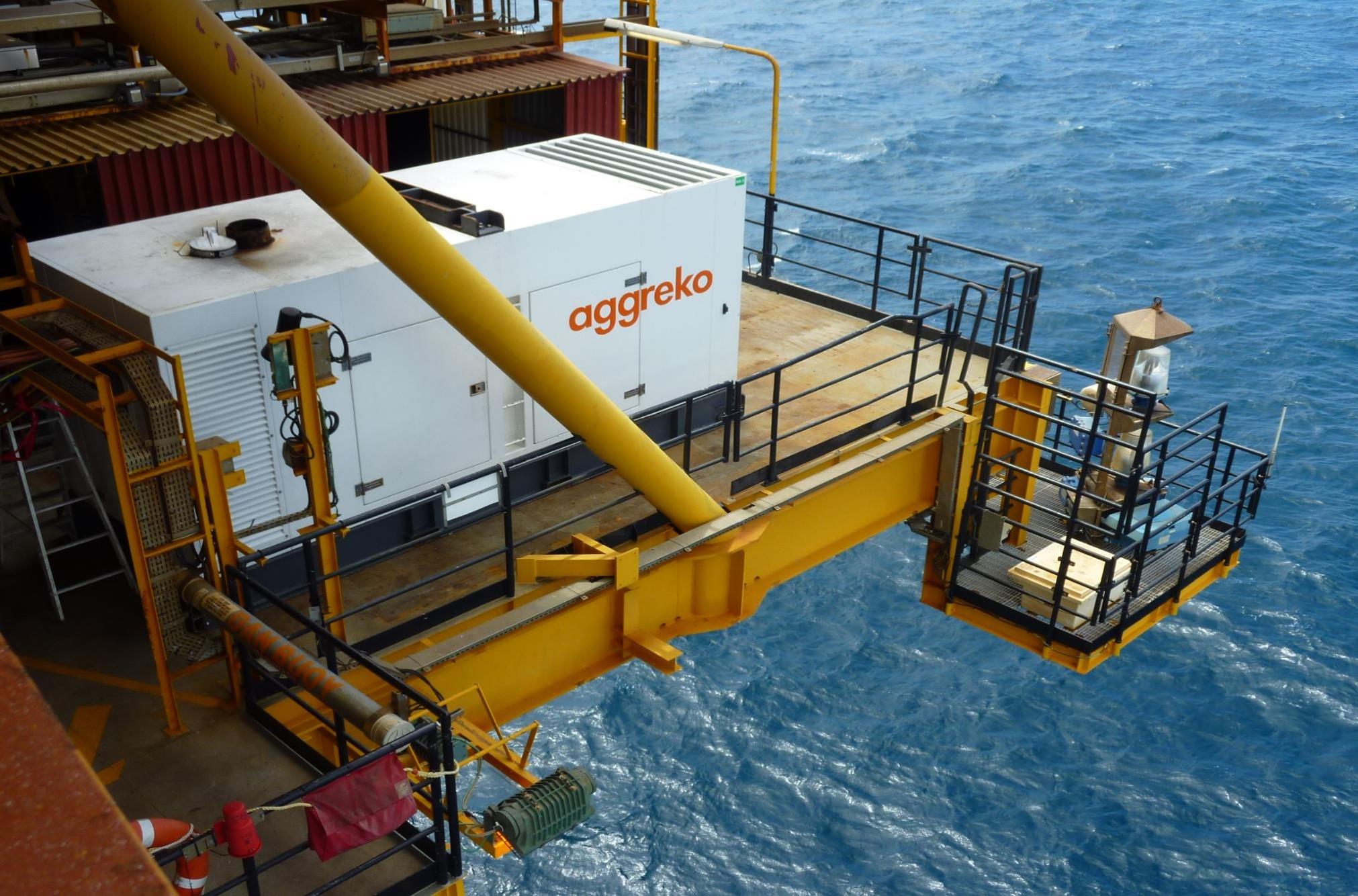 Aggreko desponta como líder global no fornecimento de energia modular móvel