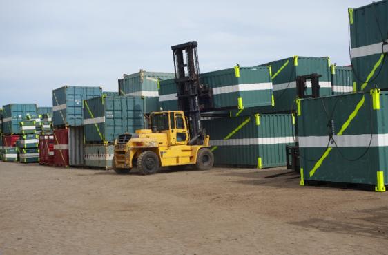 RT LEA oferece serviços de lingas de aço, contentores e execução de obras